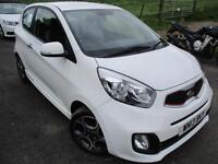 2013 KIA PICANTO WHITE AUTOMATIC SPECIAL EDITION HATCHBACK PETROL