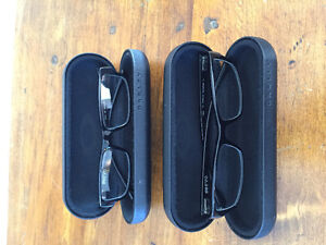 Two pairs of Oakley Servo Rx glasses