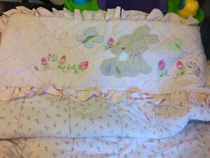 Bunny/Rose Crib Set