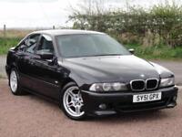 BMW E39 525i M Sport, Auto, 2001, 107k, 2 Owners (Same Surname), FSH, MOT: Aug