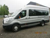 FORD TRANSIT 17 SEATER MINIBUS 4000 MILES FROM NEW £18995+VAT