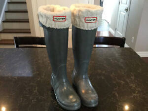 New Hunter Boots and Boot Socks