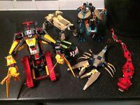 6 Lego Figures