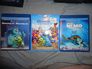 LOTS OF DISNEY AND OTHER DVDS AND BLURAYS