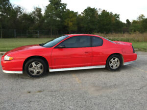 2001 Chevrolet Monte Carlo SS Limited Edition