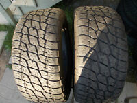 305/50/R20 inch All Season Tires / GOOD DEAL