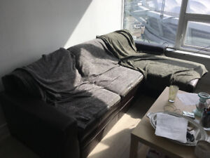 FREE couch for pick up! Vancouver downtown area