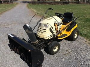 Cub Cadet Lawn Tractor LT1050 and accessories