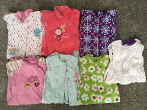 Size 18-24 months girls sleepers