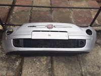 Fiat 500 front and rear bumper in good condition