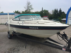 1989 Sunray Bowrider Boat for sale