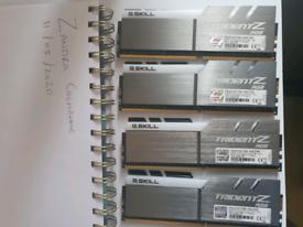 32GB RAM G Skill Trident - Z 4133mhz RGB (4x8GB)