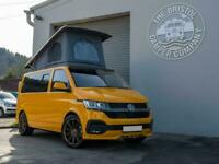 New VW T6.1 SWB Highline Discovery Campervan Tailgate in Chrome Yellow