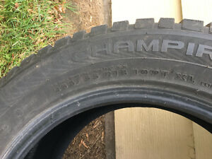 255/55 R18 Snow tires for sell