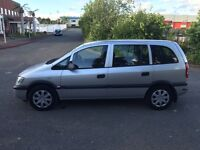 My lovely 2004 Vauxhall Zafira 2.0L DTI 7 Seater Family Car For Sale Mot-02-2017 Cheap Price £999ONO