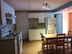 Brand new & spacious one bedroom fully furnished basement suite Prince George British Columbia image 1