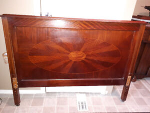 Antique double  bed frame 1940's for sale