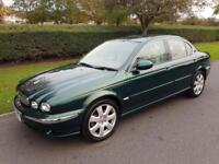 JAGUAR X-TYPE 2.5 V6 SE (AWD) AUTOMATIC - 4 DOOR - GREEN - 2004 ** LOW MILES **