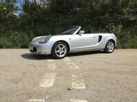 2001 Y TOYOTA MR2 ROADSTER VVT-I SILVER EXCEPTIONAL CONDITION