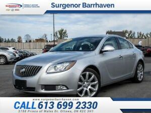 2012 Buick Regal Turbo  -Turbo - Low Mileage - $150 B/W