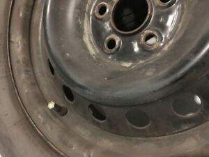 Summer tires with rims 195/65R15 patter 5x100