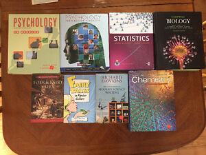 CBU First Year Science Textbooks
