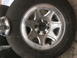 GMC Sierra standard wheels & tires