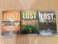 Lost DVD Collection Season 2 and 3 Brand New Sealed $5 each