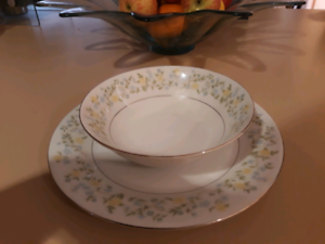 Plate & bowl set for 4.  See details in description. Sorrento Joondalup Area Preview