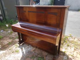 Piano - Quality Heavy Duty On Casters Euterpe 5 ( 5256) Upright Piano.