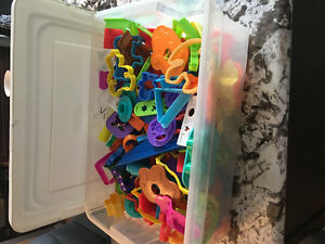 Massive play dough toys collection