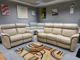 Brand new 3+2 seater sofa Power recliner