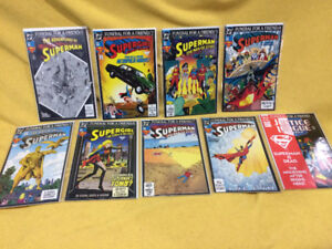 Superman Funeral For A Friend Full Set (9 issues) Mint 1993