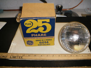 AC Guide Sealed Beam T-3  1960's