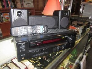 KENWOOD VR-696 Stereo Amp With Remote For Sale