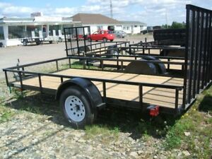 New 2018 - 6' x 12' Triple Crown Utility Trailer