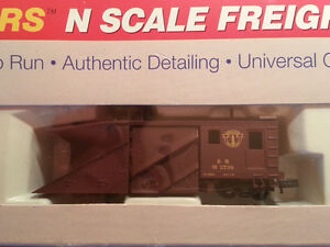 EXTREMELY RARE N Scale Boston Maine Model Railroad Snow Plow
