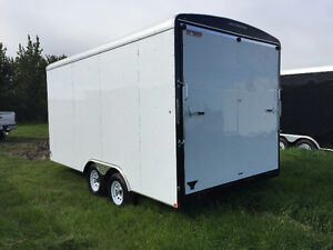 2016 TNT 8.5x16ft Enclosed Trailer w/12'' Extended Height $8999 Edmonton Edmonton Area image 3