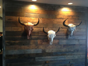 RUSTIC FEATURE WALLS, FLOORS AND BEAMS, Wood Hippy