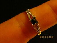 Beautiful Black Diamond ring for sale