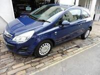 Vauxhall Corsa S Ecoflex 3dr 50mpg £30pa tax PETROL MANUAL 2013/63