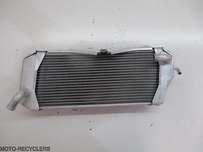 09 KX450F KX 450F KX450 left radiator 74