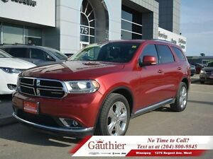 2015 Dodge Durango Limited AWD w/Dual DVD
