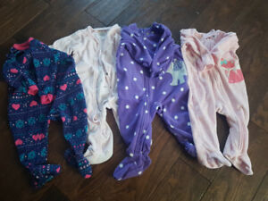 Large lot of 6-12/9 month baby girl clothes