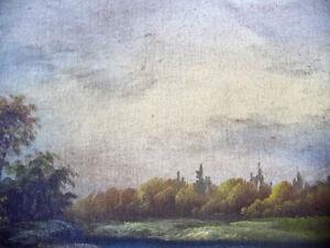 Antique,Oversized Hudson River School Landscape, Original 1800's Stratford Kitchener Area image 6