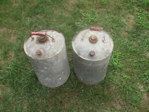 Large Metal Cans