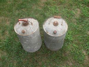 Large Metal Cans Kitchener / Waterloo Kitchener Area image 1