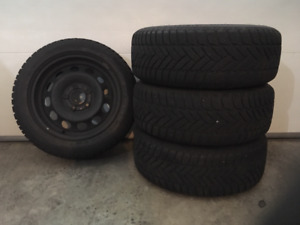 BMW Snow Tires and Wheels $449.00