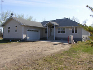 Large Bungalow with Shop by Moose Lake For Sale!