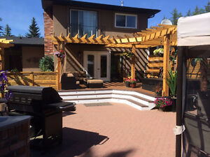 deck builder /screw piles Edmonton Edmonton Area image 3